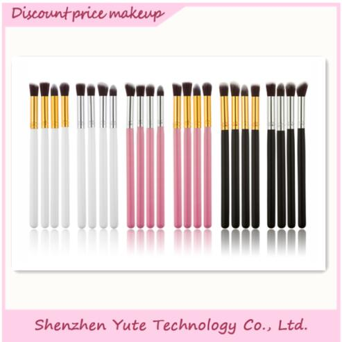 White Makeup Brush/4Pcs Makeup Brush Set/Make up Brush Kit With Private Label Quality Choice Most Popular
