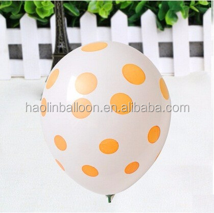 100% Natural Latex Promotion Logo Balloons