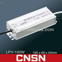 LPV-100-12 LPV-100W Waterproof led power supply (CNSN)