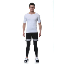 Skin Clothing Muscle Fit T Shirt and Leggings Jogging Suit for Men