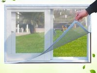 DIY magnetic door screen fiberglass instant window door screens curtain