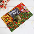 Metal plate board factory supply directly full color chili printing tin sign