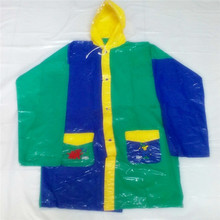 children plastic PVC raincoat/rainwear for kids