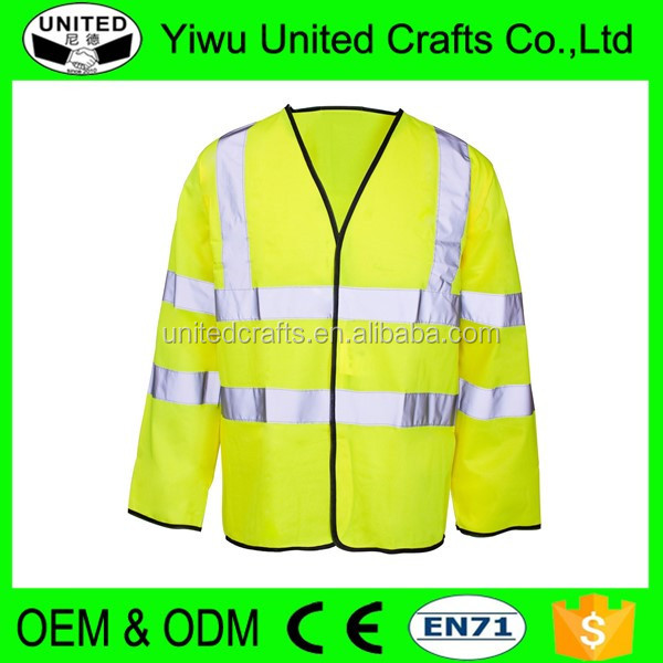 New safety sports custom LED running reflective clothes with full colors