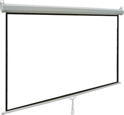 Cheapest office school projector screen manual screen motorized projector screen