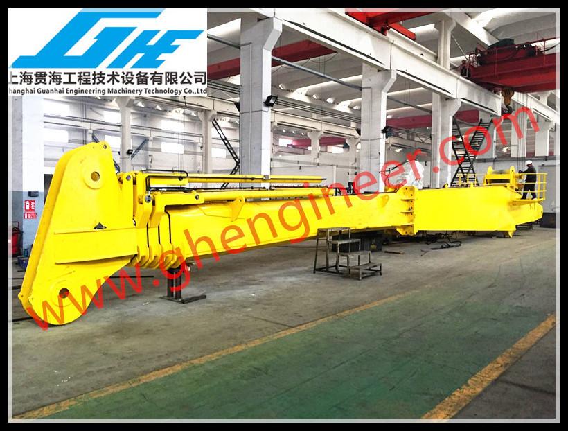 Telescopic Deck Cranes : T m hydraulic telescopic boom marine deck crane buy
