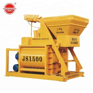JS1500 concrete mixer machine with water pump price in india