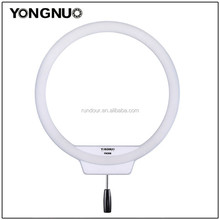 Professing YN308 LED Ring Light Wireless Remote Video Light 3200K~5500K Color Temperature Annular and Frameless Appearance Desi