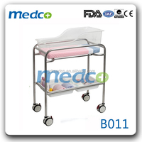 Medco B011 Medical baby bassinet and Hospital crib