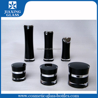 Promotional Cosmetic Container Acrylic Bottle and Jar Hot Stamping