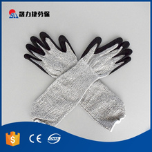 String knit Latex cotton hand long sleeve rubber gloves