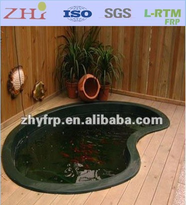 FRP Fiberglass <strong>Fish</strong> Pond tank for Gold <strong>Fish</strong> Breeding