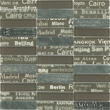 Text Inside The Mosaic Tiles For Construction 8 MM