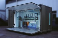 Good Looking Luxury Durable Green Houses Prefab Shipping Container Houses/Shop