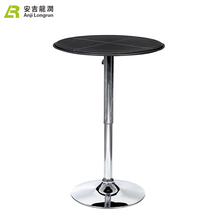 New Product Modern Design Black Portable Cocktail High Bar Table