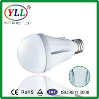 2013 High Quality 75-80Ra 7W 95lm/W Chinese factory led bulb light e27 3/5/7/9/12/18W available