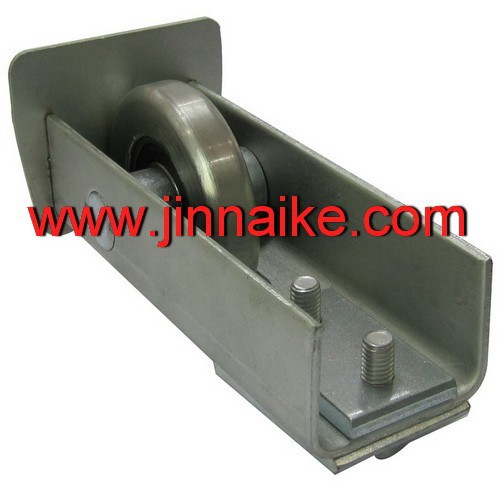 guide sliding wheel for automatic gate track, factory sliding doors