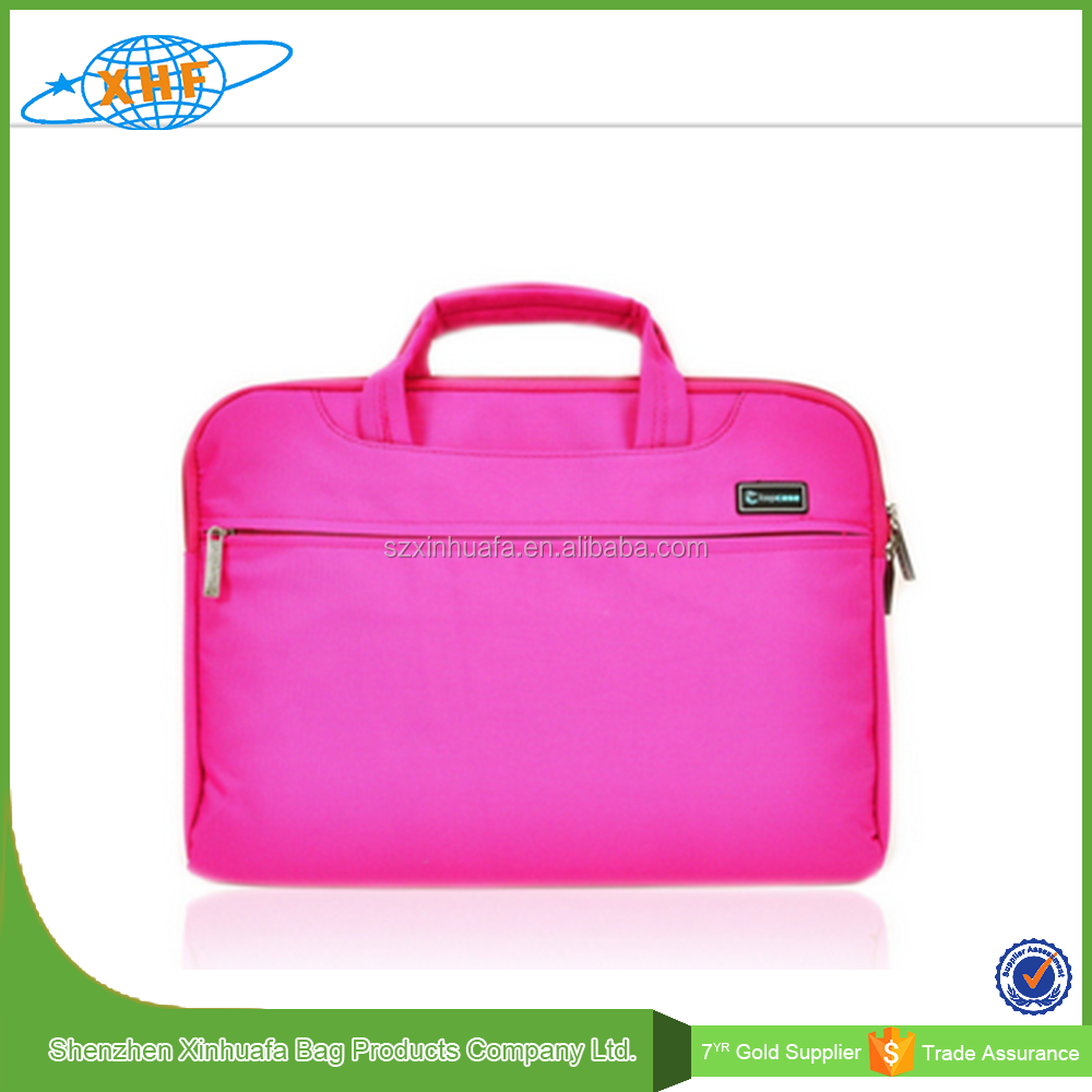 Factory Direct Sale Nylon Neoprene 15 Inch Laptop Bag