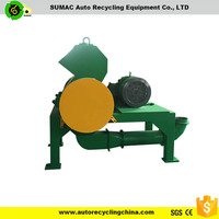 Waste rubber/ tire recycle crushers/ shredding machine