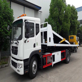standard duty 7ton steel platform rollback car carrier truck with good quality