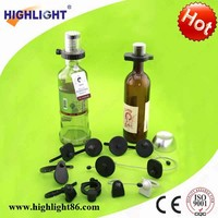 Bottle security eas tag anti-theft equipments anti theft bottle collar, security bottle collar tag, adjustable