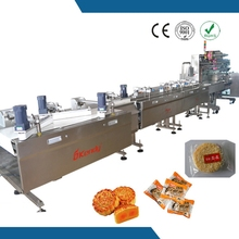 Kendy 304 stainless steel coconut candy packaging line