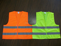 Reflective Safety Vest with EN ISO20471 Certificate
