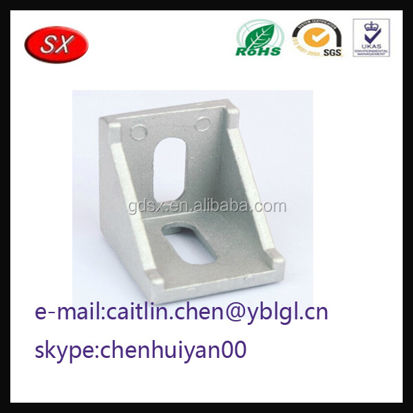 Chinese Manufacturer Custom chrome plated retaining clip hardware V shaped bracket