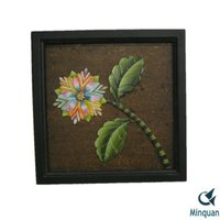 Flower pattern quality America design home accessories wall decoration items