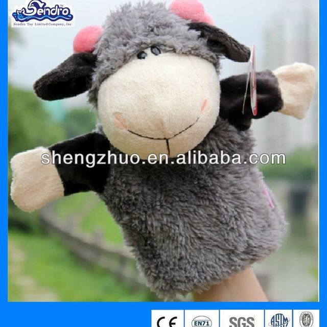 2016 mascot GOAT puppets , animals hand puppets toy, Jungle Series animal puppets