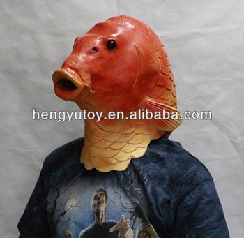 Novelty latex fish
