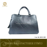 hot selling fashion genuine crocodile skin handbag for ladies exotic handbag