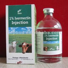 ivermectina injection for cattle 1%,2%and so on