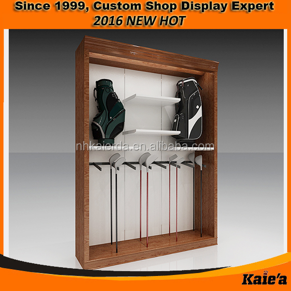 Retail golf club display furniture ,golf cube furniture decoration
