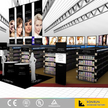 CES Fashion samrt display showcase mobile phone accessories store design