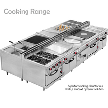 Commercial 700/900 Series Electric/Gas Bain Marie Cooking Equipment