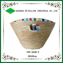 Wholesale china direct natural straw woven shopping eco friendly bag