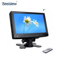 "7 ""car touch panel monitor with 4 -wire 16:9 with HDMI"