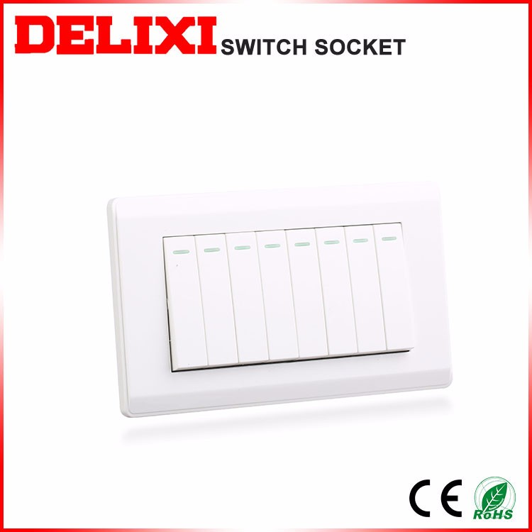 Low maintenance cost Energy saving australian wall switch