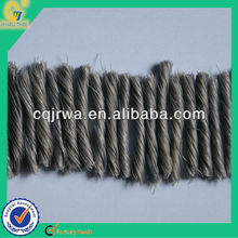 Engineering Twisted PP Fiber Enhancing Common Road Building Materials