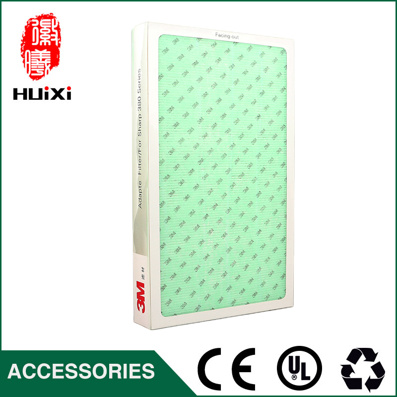 HEPA +deodorization+activated carbon filter and high efficient composite filter screen air purifiers parts KC-W380SW-W