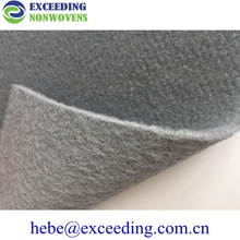 thermoformed velour fabric felt for dash board cover mat
