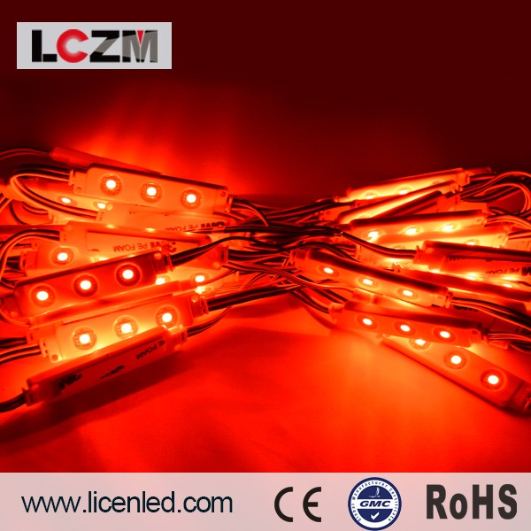High quality CE ROHS UL CUL SAA 5050 epistar chip 20-22lm 3leds injection led light module Prefabricated Houses