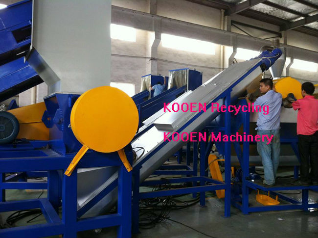 Advanced technology waste plastic film recycling machine/plastic film recycling line/plastic film recycling
