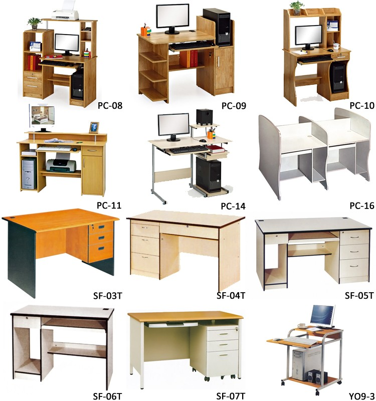 Study table designs computer table home wooden computer - Computer and study table designs for home ...