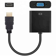 Hdmi male to vga female adapter with audio