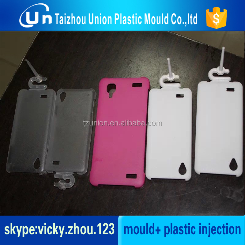 high-quality molded plastic parts mobile phone plastic mould
