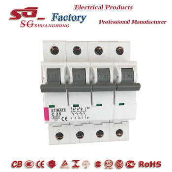 2018 new deign mini circuit breakers ETIMATE MCB