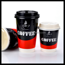 Disposable paper take away coffee cups wholesale