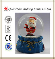 Santa Claus The mini snow globes wholesale and sale